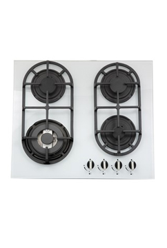 "Hobs <span class=""smaller"">- <span class=""mini"">Model No.</span> BGG64W</span> <span class=""smaller""> - <span class=""mini"">Product Code</span> 33801423</span>"